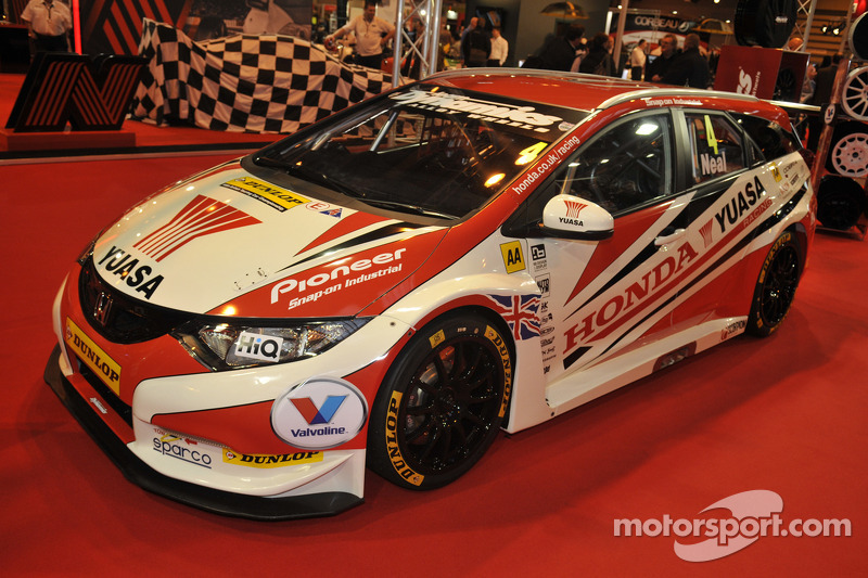 2014 BTCC Honda Yuasa Racing Civic Tourer Estate