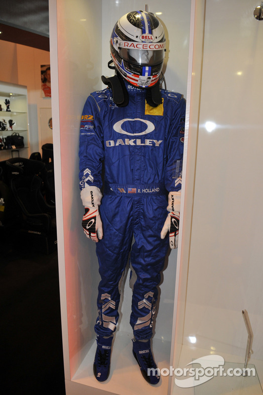 Robb Holland da Rotek Racing Overalls
