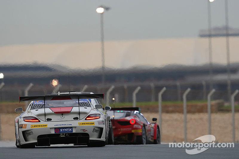 #19 GDL Racing 梅赛德斯 SLS AMG GT3: Luc Braams, Duncan Huisman, Ivo Breukers, Gianluca de Lorenzi