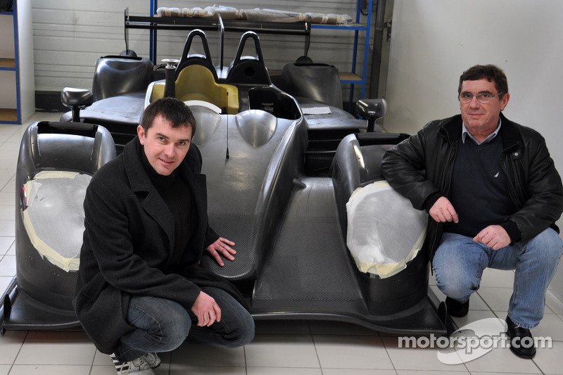 Claude ve Julien Schell ve yeni Pegasus Racing Morgan LM P2