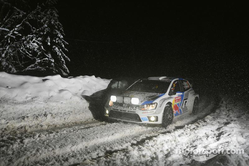 2014 - Deuxième victoire d'Ogier : Volkswagen Polo R WRC