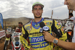 Quad category winner Ignacio Casale