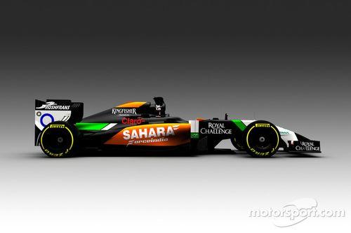 Force India VJM07 reveal