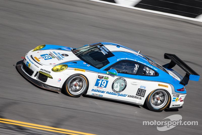 #19 Muehlner Motorsports America Porsche 911 GT America: Randy Pobst, Jim Michaelian, Bob Doyle, Rob