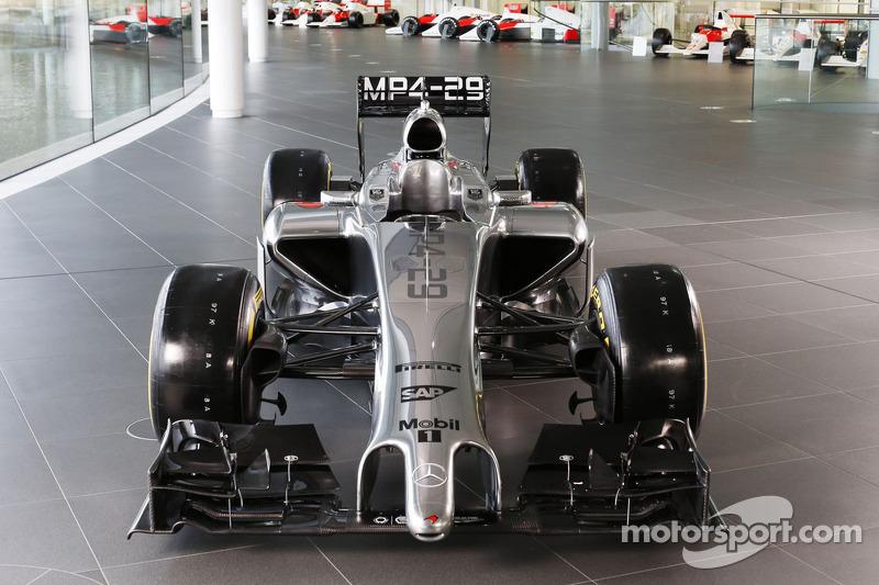 La McLaren Mercedes MP4-29