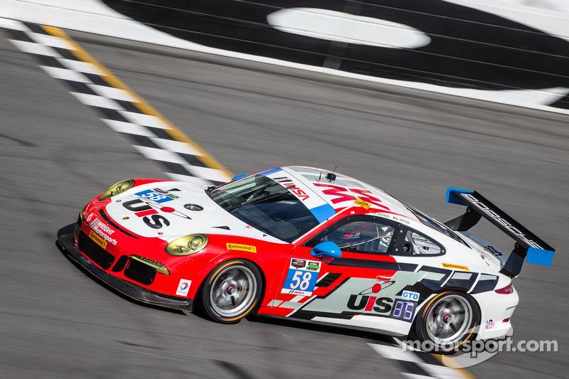 #58 Snow Racing 保时捷 911 GT America 保时捷: 麦迪逊·斯诺, 扬·埃朗, 马可·泽弗里德