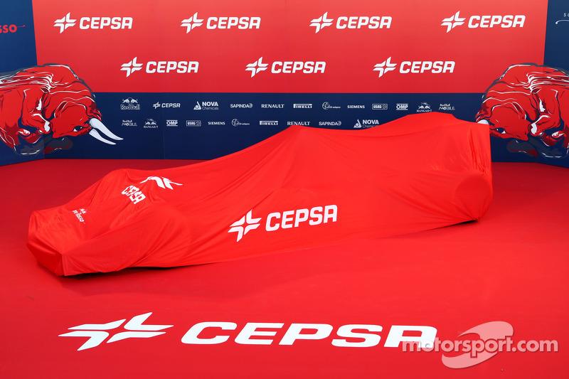 La Toro Rosso STR9 sotto i veli