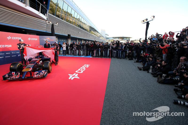 Daniil Kvyat, Scuderia Toro Rosso ve Jean-Eric Vergne, Scuderia Toro Rosso