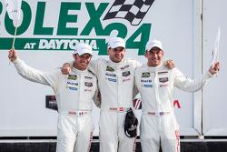 GTLM victory lane: class winners Nick Tandy, Richard Lietz, Patrick Pilet