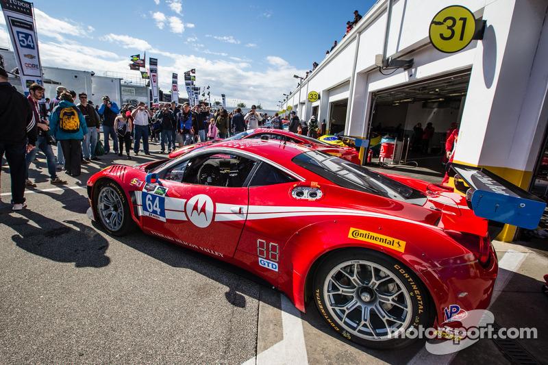 #64 Scuderia Corsa 法拉利 458 Italia