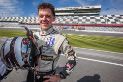Race winner Scott Tucker, Boardwalk Ferrari