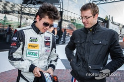 Champions photoshoot: Sebastian Saavedra and Sébastien Bourdais