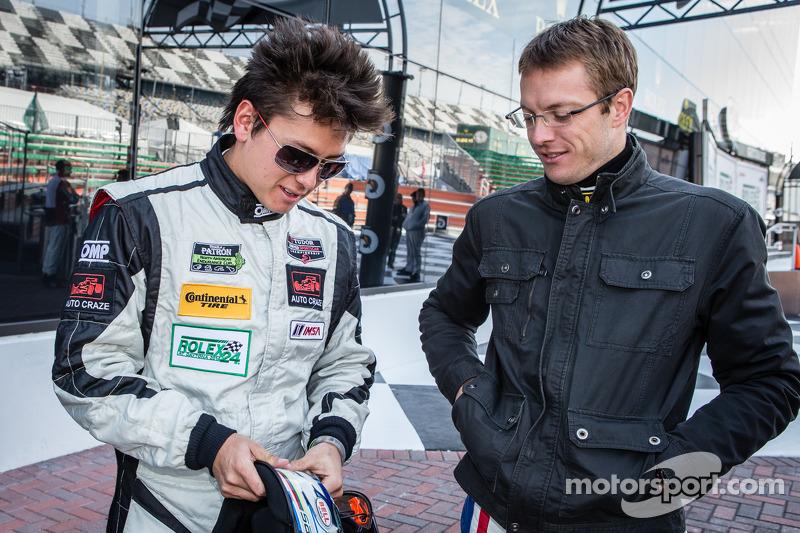 Şampiyonların fotoğraf çekimi: Sebastian Saavedra ve Sébastien Bourdais
