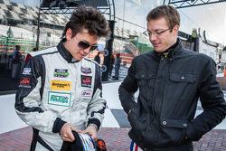 Champions photoshoot: Sebastian Saavedra and Sébastien Bourdais