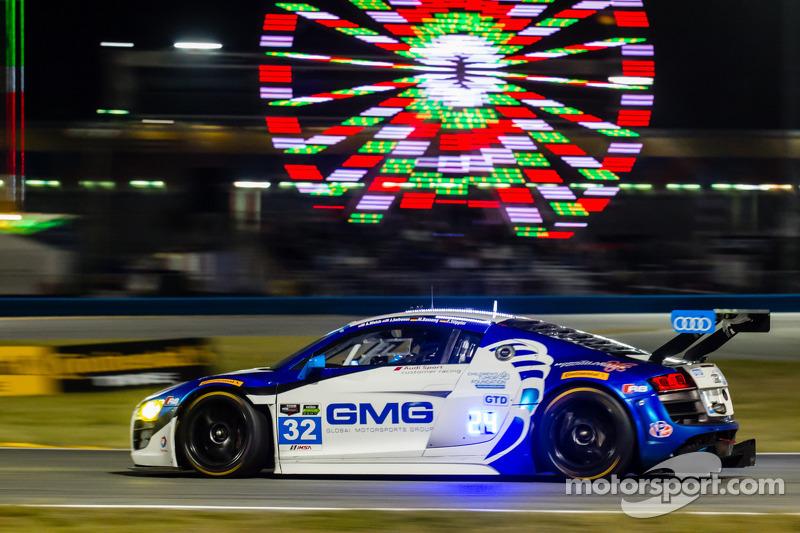 #32 GMG Racing Audi R8 LMS: James Sofronas, Alex Welch, Frank Stippler, Marc Basseng
