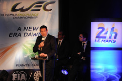 WEC CEO Gerard Neveu