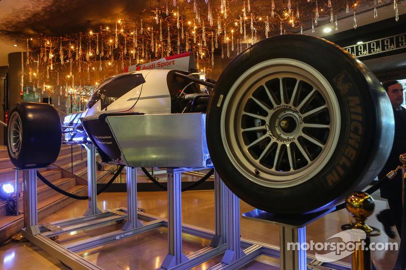 L'Audi R18 sezionata