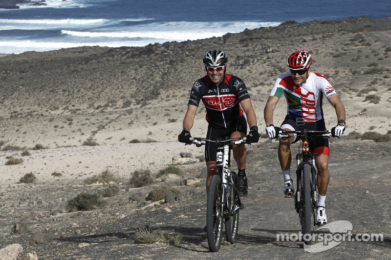 Tom Kristensen e Timo Scheider