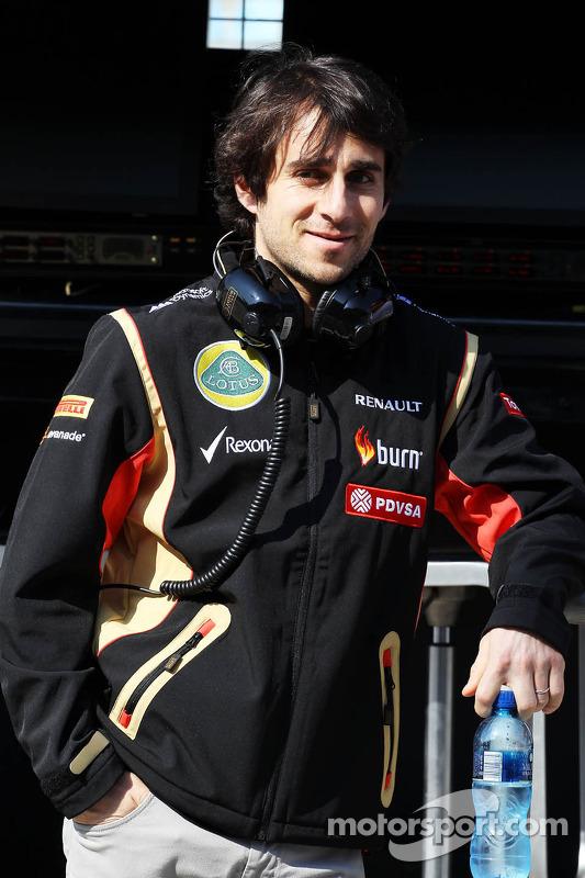 Nicolas Prost, Lotus F1 Driver Test