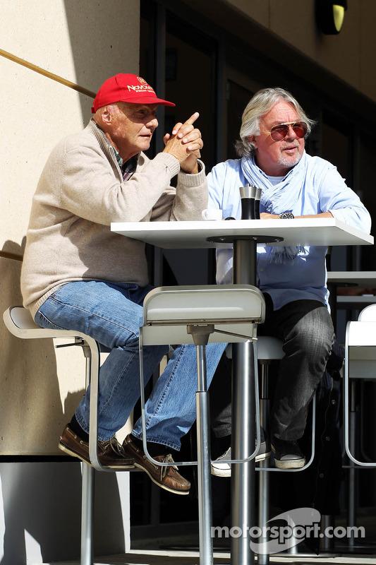 Niki Lauda e Keke Rosberg