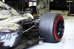 McLaren MP4-29, Hinterradaufhängung, Detail