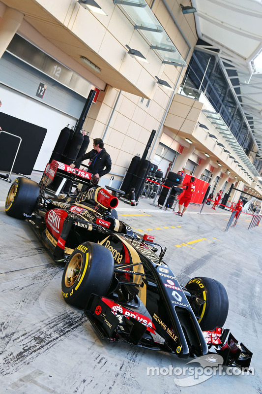 La Lotus F1 E22