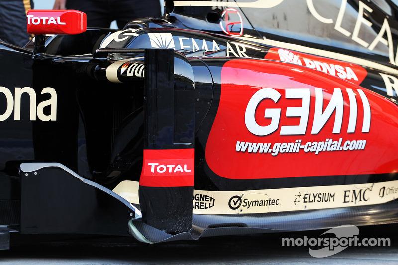 La Lotus F1 E22 è ufficialmente svelata - particolare fiancata