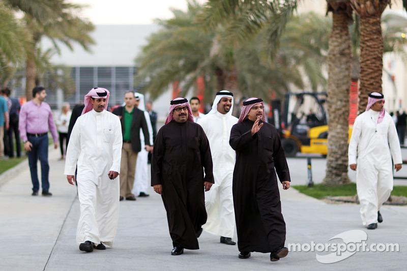 Principe Salman bin Hamad Al Khalifa, principe ereditario del Bahrain