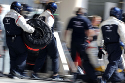 Williams F1 Team mecânicos