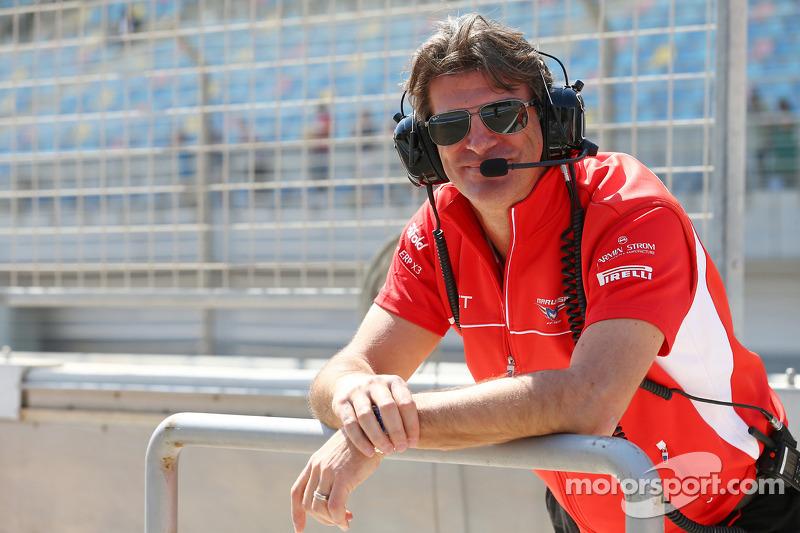 Graeme Lowdon, Marussia F1 Takımı Baş Yöneticisi