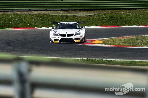 Alex Zanardi testa o BMW Z4 GT3