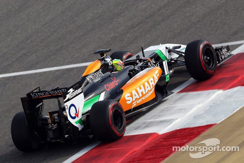 Sergio Pérez, Sahara Force India F1 VJM07