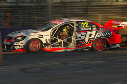 James Courtney with no door