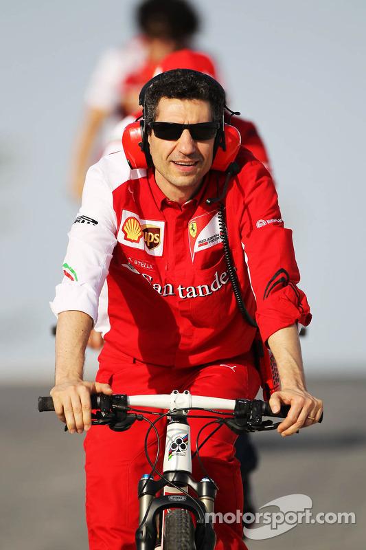 Andrea Stella, engenheiro de corridas da Ferrari