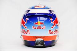 The helmet of Daniel Ricciardo, Red Bull Racing