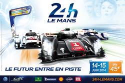 Póster de Las 24 Horas de Le Mans 2014