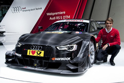 Nico Muller with the 2014-spec Audi RS 5 DTM