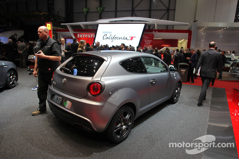 Alfa Romeo Mito Quadrifoglio Verde At Geneva International Auto Show