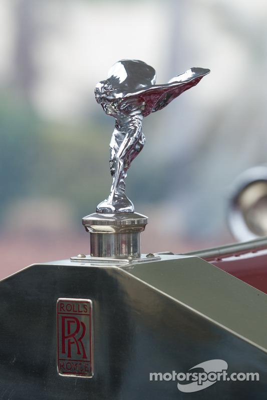 Detalhe de um carro clássico