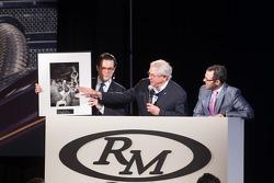 Bill Warner hosting first auction item