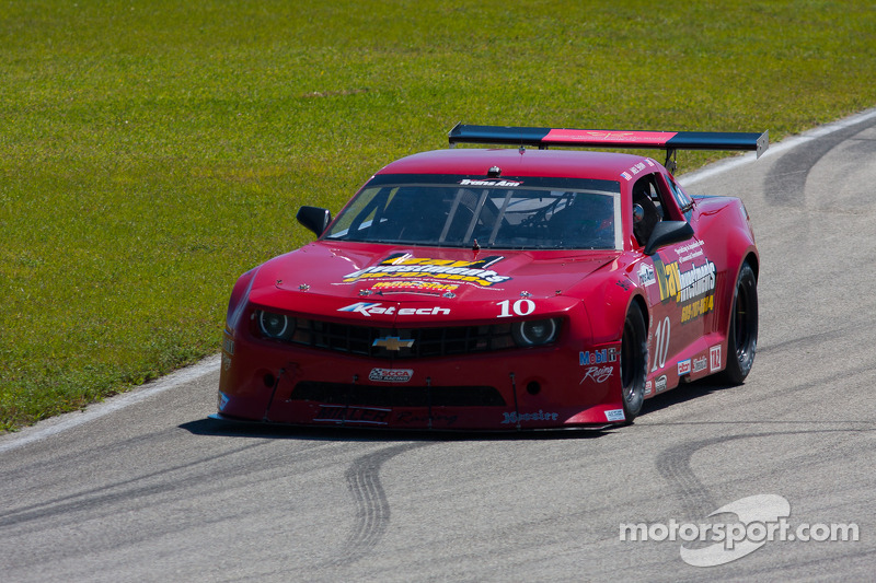#10 Miller Racing Chevrolet Camaro: Mel Shaw