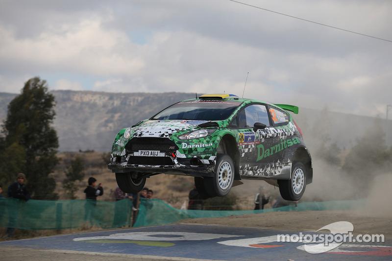Yurii Protasov e Pavlo Cherepin, Ford Fiesta R5