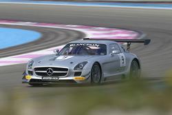 #9 HWA AG Mercedes SLS AMG GT3