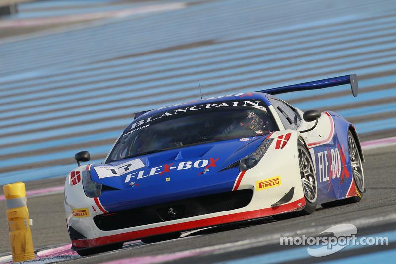 #17 Insight Racing 和 Flex-Box 法拉利 458 Italia