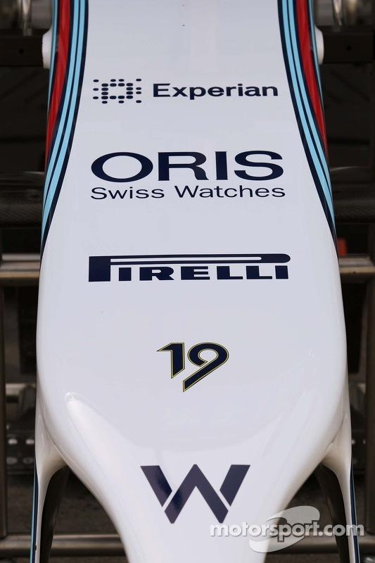 Nase: Williams FW36