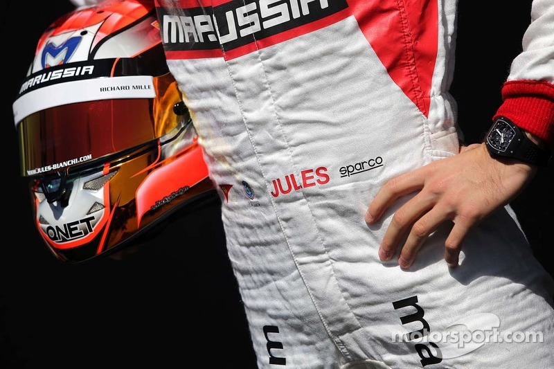 朱尔斯·比安奇(法),玛鲁西亚F2车队