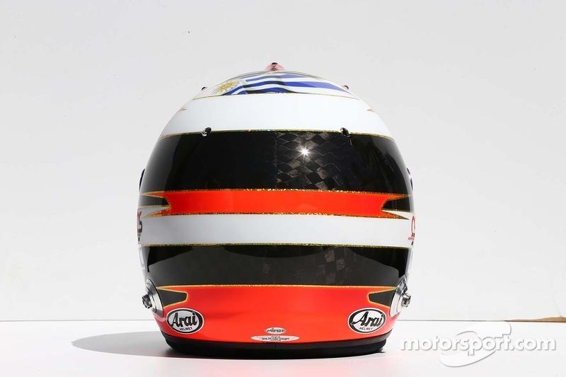 Il casco di Adrian Sutil, Sauber