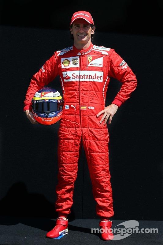 Pedro De La Rosa, Piloto Ferrari