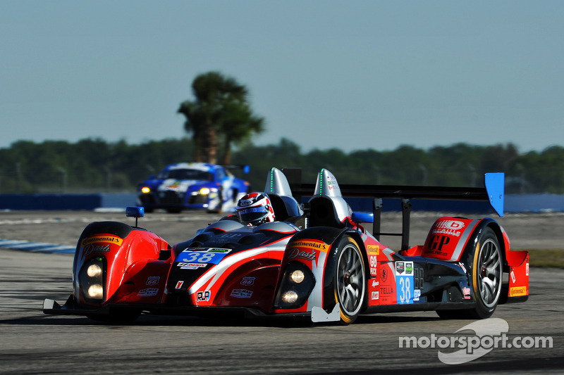 #38 Performance Tech Motorsports ORECA FLM09 Chevrolet: Charlie Shears
