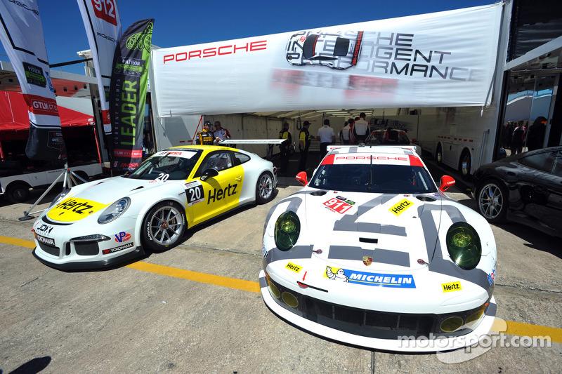 Hertz ve Porsche partnerlik duyurusu